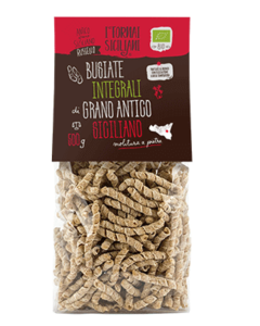 Busiate integrali di grano antico siciliano 500g.